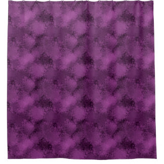 Purple Speckles Shower Curtain