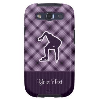 Purple Speed Skater Samsung Galaxy S3 Cases