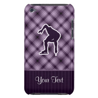 Purple Speed Skater iPod Touch Cover