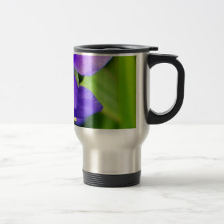 Purple Spider Flowers Coffee Mug