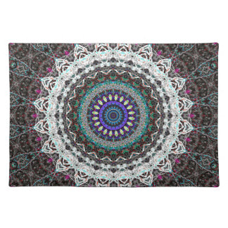 Purple Spider House Kaleidoscope Placemat