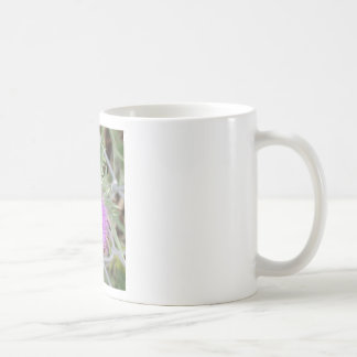 Purple spike coffee mug