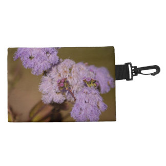 Purple Spiky Flower; No Text Accessory Bag