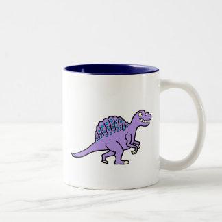 Purple Spinosaurus Mugs