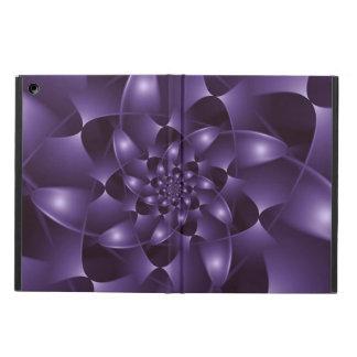 Purple Spiral Fractal iPad Air Case