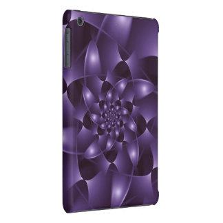 Purple Spiral Fractal iPad mini Case