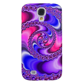 Purple Spiral Galaxy S4 Case