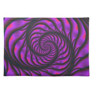 Purple Spiral Ladder Placemats