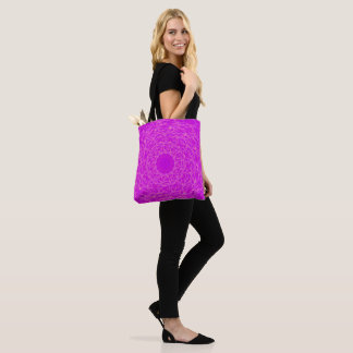 Purple spirals bag