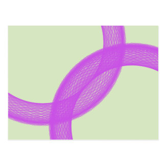 purple spiritual fulfillment postcard