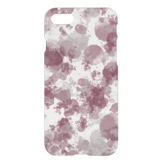 Purple Splash Deflector iPhone 7 Case