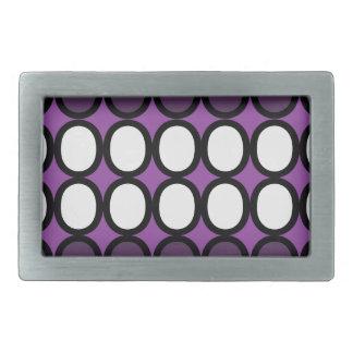 Purple Splash of O's Belt Buckle