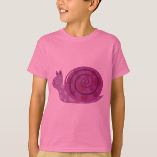Purple Spotted Snail T-Shirt