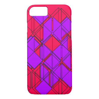 Purple Square iPhone 8/7 Case