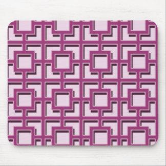 Purple square mouse pad