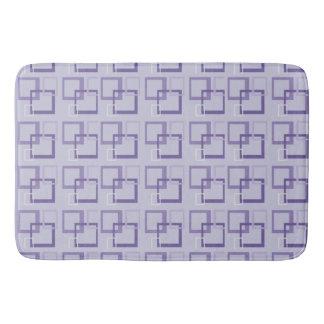 Purple Squares Bathmat Bath Mats