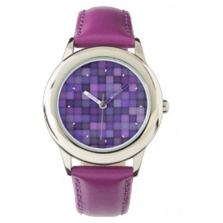 Purple Squares by Julie Everhart Watches
