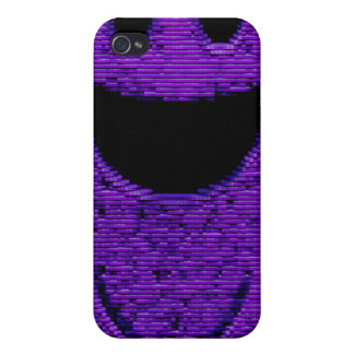 Purple Squares Smiley cover