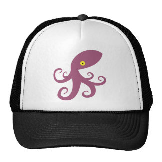 Purple Squid Cap