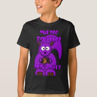 Purple Squirrel Don't Care T-Shirt
