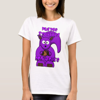 Purple Squirrel Don't Care T-Shirt