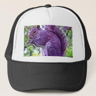 Purple Squirrel Trucker Hat