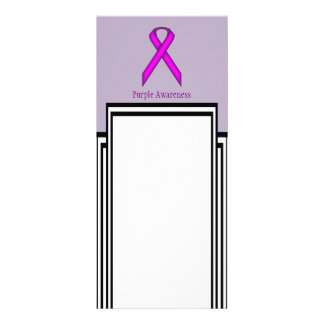 Purple Standard Ribbon Rack Cards