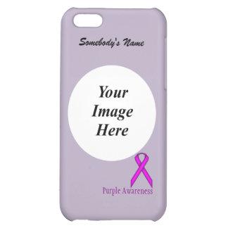 Purple Standard Ribbon Template iPhone 5C Case
