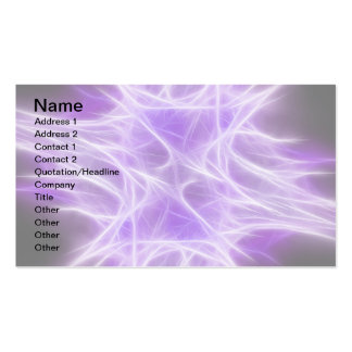 Purple Star 1 Double-Sided Standard Business Cards (Pack Of 100)
