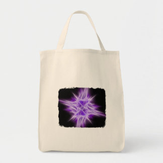 Purple Star 1 Canvas Bags