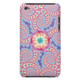 Purple Star Fractal Pern  iPod Touch Cases