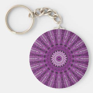 Purple Star Gazer Kaleidoscope Keychains