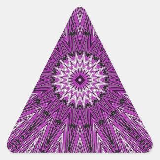 Purple Star Gazer Kaleidoscope Stickers