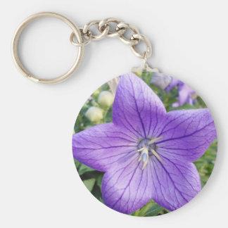 Purple Star Key Chain