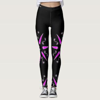 Purple Star Leggings