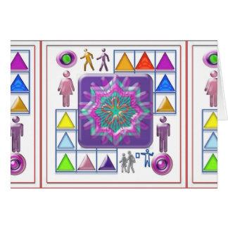 PURPLE STAR n Cartoon Images: Elegant GIFTS f kids Greeting Cards