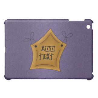 Purple Star Speck Hard Shell iPad Case
