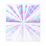 Purple starburst notepad (customisable)
