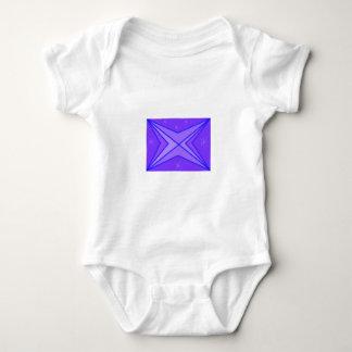 Purple Stars Baby Bodysuit