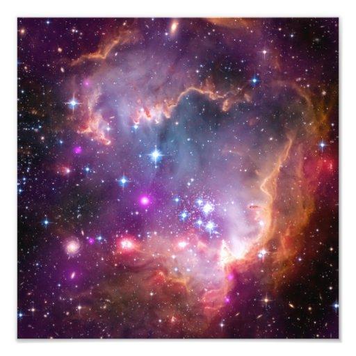 Purple Stars Galaxy Space Astronomy Photo