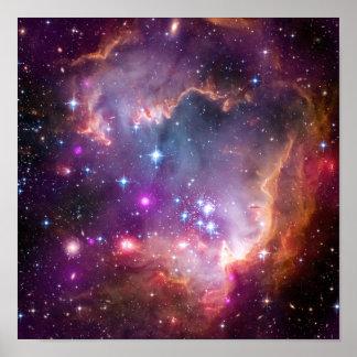 Purple Stars Galaxy Space Astronomy Print