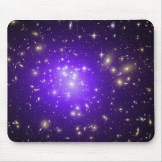 Purple stars haze in space NASA Mouse Mat