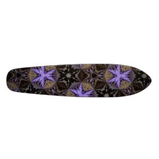 Purple Stars Skate Board Decks