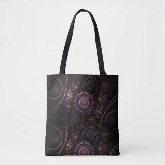 purple steampunk bag