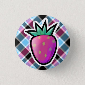 Purple strawberry button