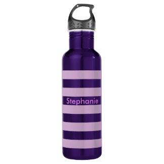 Purple Stripe 710 Ml Water Bottle