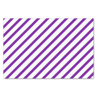 Purple Stripe Tissue Paper