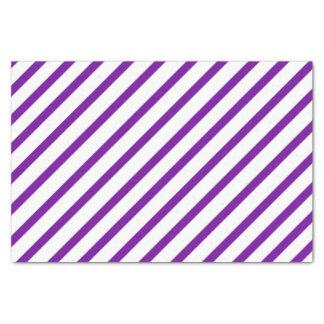 "Purple Stripe Tissue Paper 10"" X 15"" Tissue Paper"