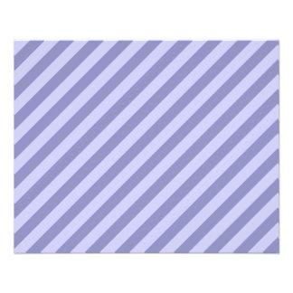 Purple stripes. flyer