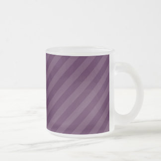 Purple stripes mug